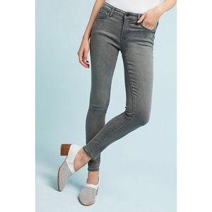 Pilcro & The Letterpress Gray Skinny Jeans